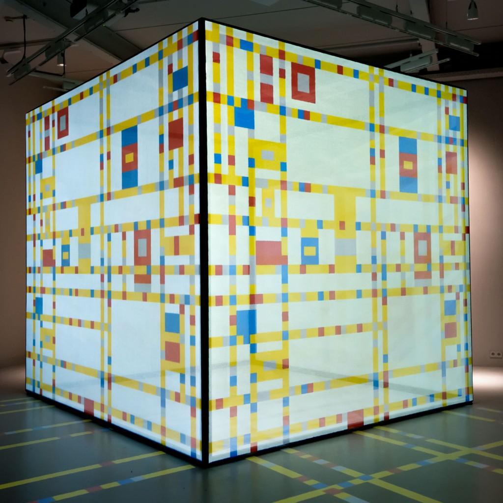 zaal new York in het Mondriaanhuis