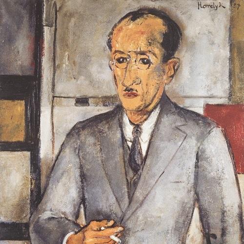 Gerard Hordijk, Portret Piet Mondriaan
